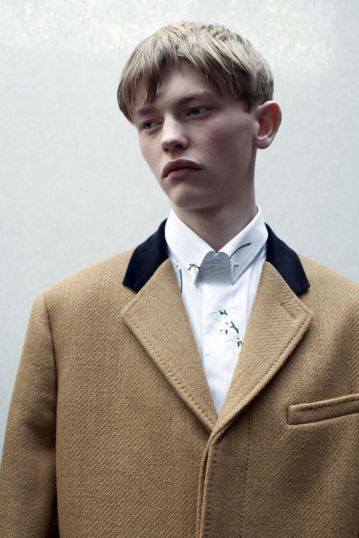 Robbie McKinnon (Supa Model Management) at Dior Homme A/W14