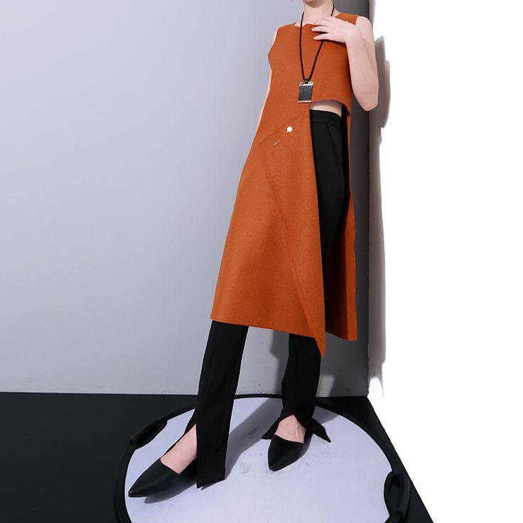 M15 basso e classico ombelico gilet di lana vestito inviare spilla 3 color 1453 in  Dettagli del tessuto di lana? Colore cioccolato Blu scuro nero/dimensioni/un formato misura tutti da Giacche di base su AliExpress.com | Gruppo Alibaba