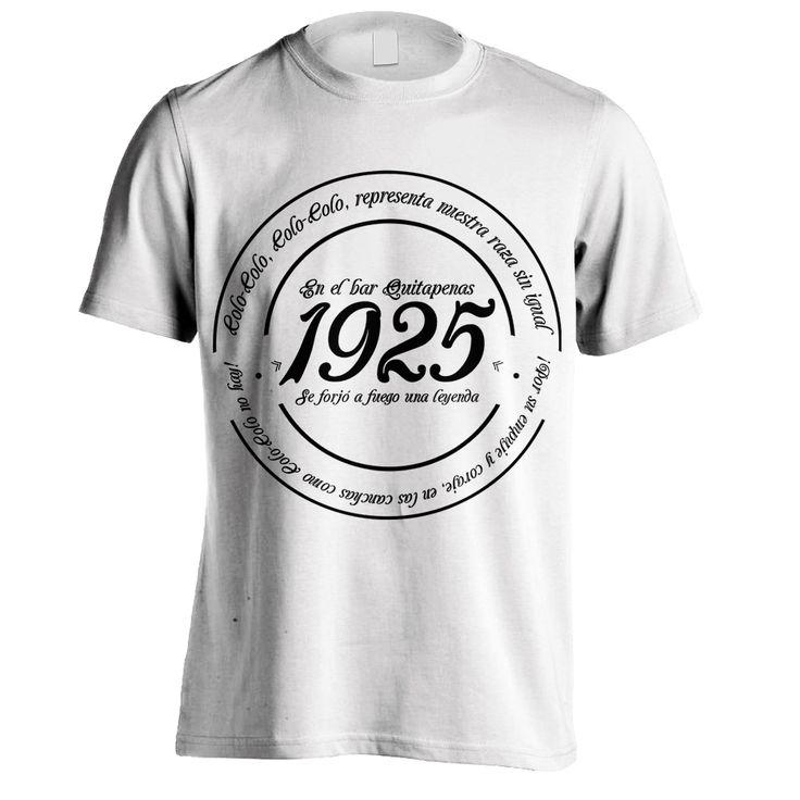 Polera 1925 blanca