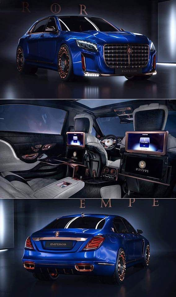 Scaldarsi emperor. It's so good what brand else than Mercedes would you want to put the emperor badge on!!