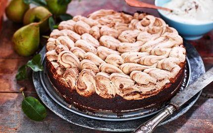 Chokladkladdkaka med chokladmaräng - Recept - Arla