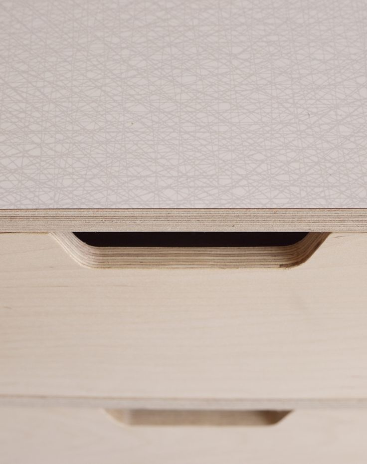 Plywood Desk Top With Reveal Edge With Formica Laminate Top