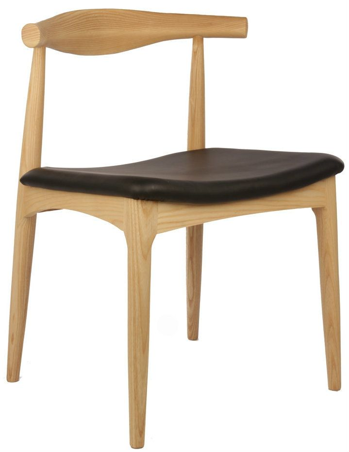 Replica Hans Wegner Elbow Chair - Natural $189