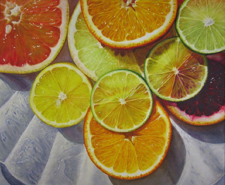 Citrus Smile - Frank Spino. Watercolor