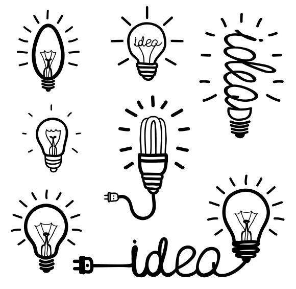dessin ampoule dessin minimaliste dessin
