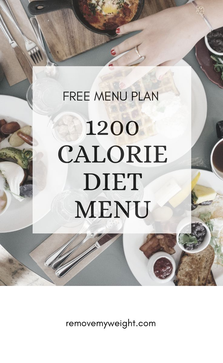 Pin On 10 Day Menu Plan For Healthy Weight Loss