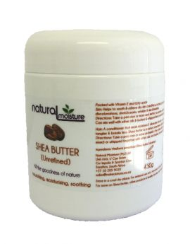 450g Unrefined Shea butter