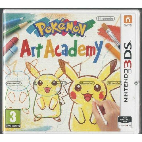 Pokemon Art Academy (Nintendo 3DS/2ds)  Brand NEW