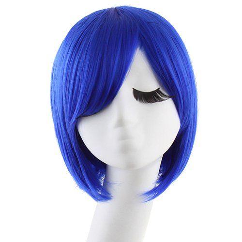 Navy Blue Wig Bob