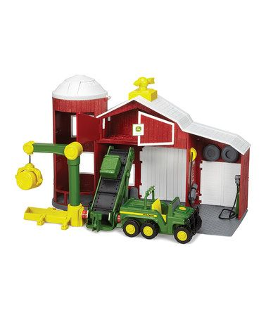 Take a look at this Lift & Load Barn by John Deere Toys on #zulily today!