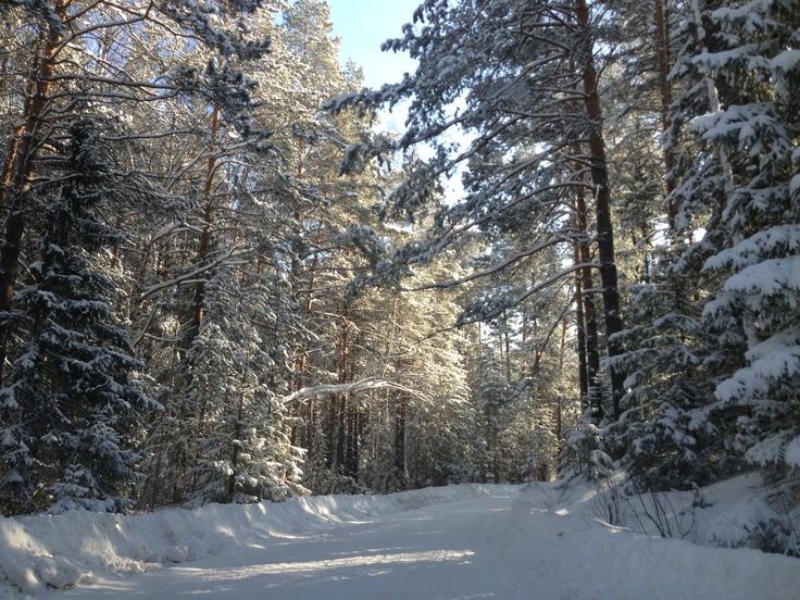 March, Ural, Russia