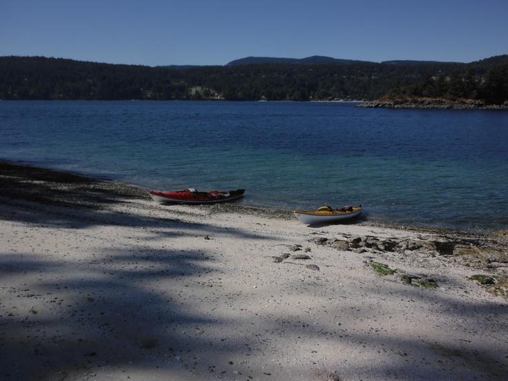 Chocolate Beach, Third Sister Island - Ganges Harbour, Saltspring Island, BC