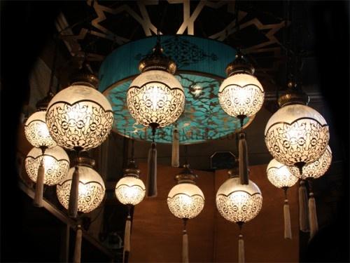 12'li Osmanlı Balon Sarkıt #ottoman #osmanli #lighting #aydinlatma