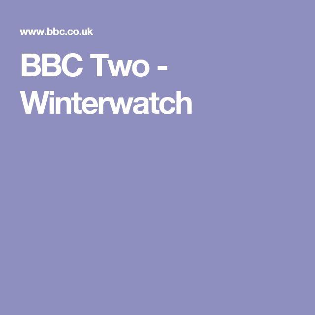 BBC Two - Winterwatch