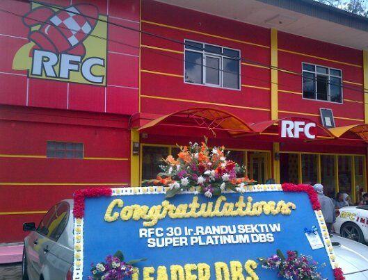 RFC (Rocket Fried Chicken) in Bandung, Jawa Barat