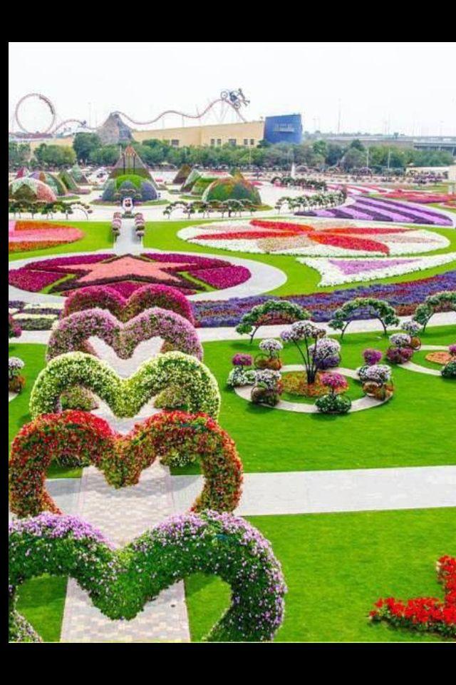 Beautiful garden … Most beautiful gardens, Miracle