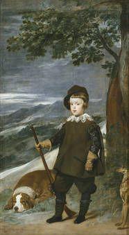 """""""El príncipe Baltasar Carlos, cazador"""", Velázquez, 1635-1636"""
