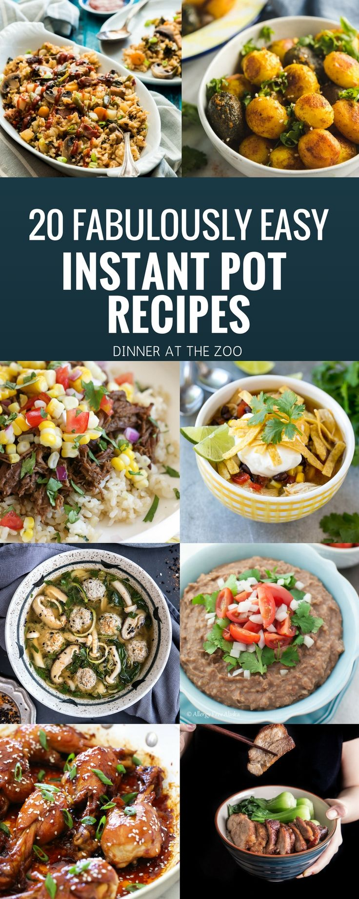 Got an Instant Pot? I'm in love with this amazing appliance! I've collected 20 of the best Instant Pot recipes, everything from hearty soups to decadent desserts!