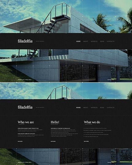 Template 44062   Filadelfia Architecture Website Template