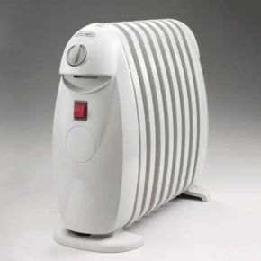 The compact DeLonghi Bambino TRN0808M Oil Filled Radiator http://oilfilledradiatorreviews.co.uk/delonghi-bambino-trn0808m-oil-filled-radiator-800-watt-review/