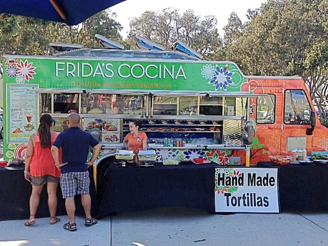 Fridas Cocina Food Truck Menu