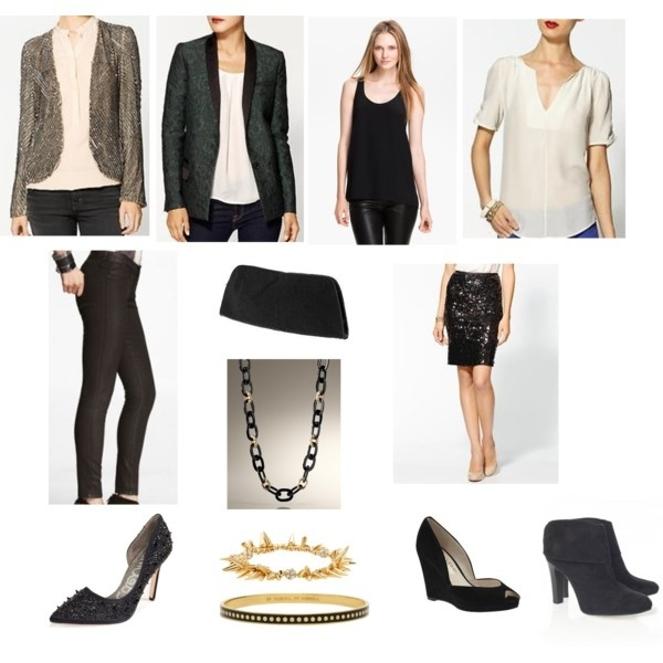 what to wear to a holiday house party / lookbook by beverly jacobs