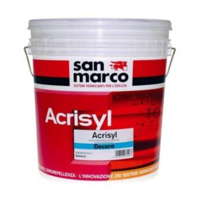 Decora Paint Tools San Marco Acrisyl Decora Crystal Professional Decorative Acrylic Siloxane Decorative Plaster Granite San Marco