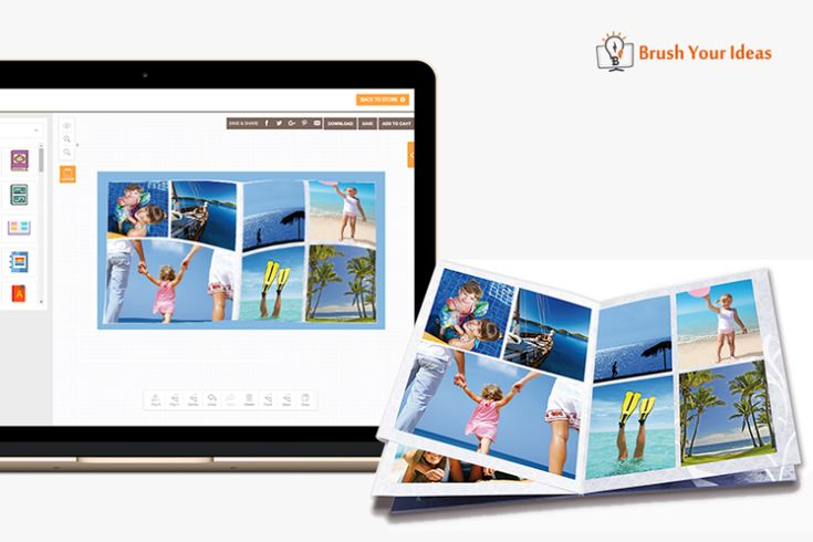 Read on to find out how Brush Your Ideas can help you sell online photo albums. #ecommerce #onlineproductdesigner #onlinedesigner