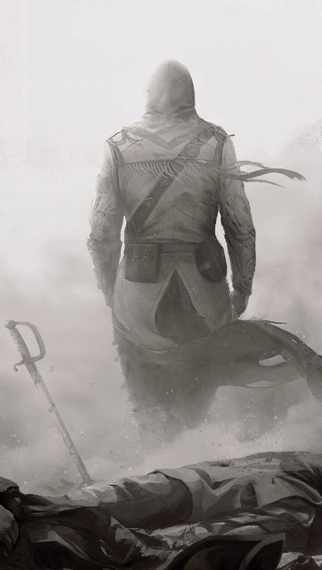 Assassin's Creed 3 iPhone 5 Wallpaper