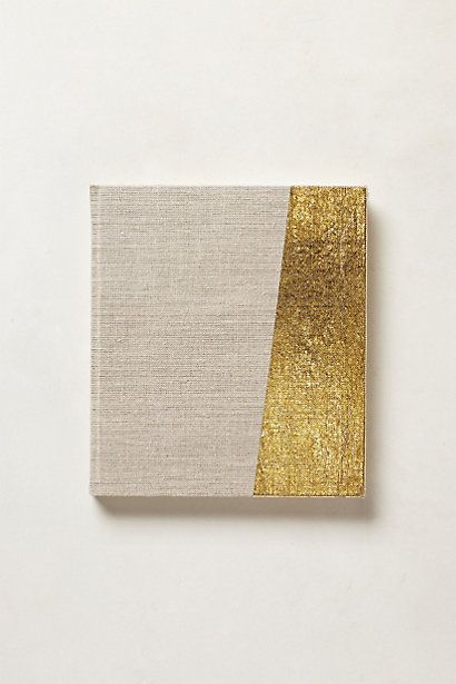 glimmer-dipped journal / anthropologie