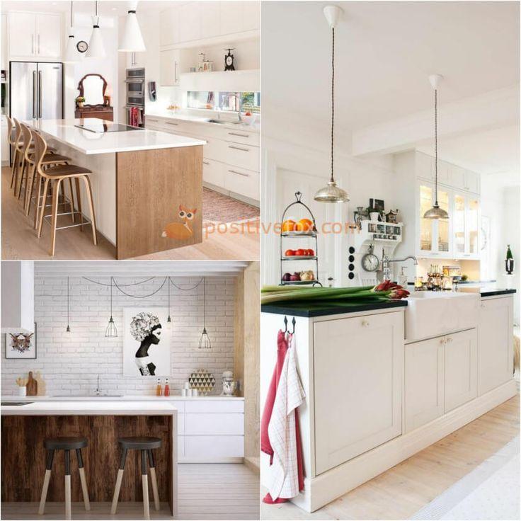Kitchen Island • Kitchen • Kitchen Island Dimensions • Kitchen Island Variations • Kitchen Island Design | Explore more Kitchen Island Ideas on https://positivefox.com