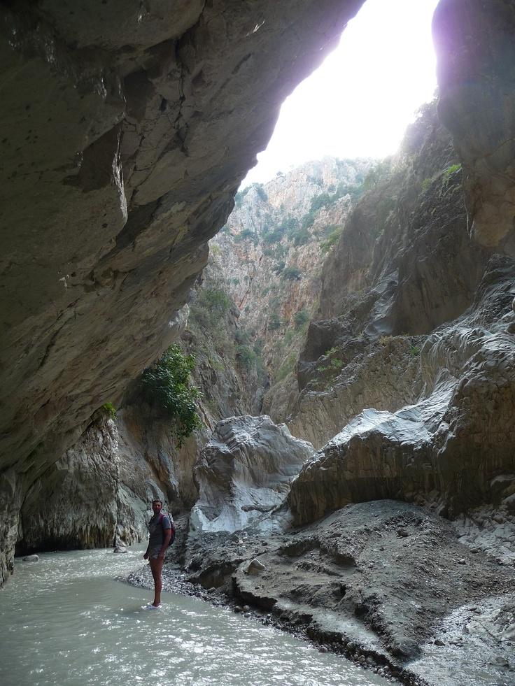 Saklikent - Hidden Village - gorge and hiking trail near Fetihye