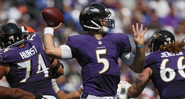 It S Not Much Of A Surprise That The Baltimore Ravens Have Given Up The Fewest Points In The Nfl It S How Well The New Receivers Have Joe Flacco Nfl Football