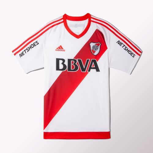 adidas - Camiseta de Fútbol Titular River Plate 2016