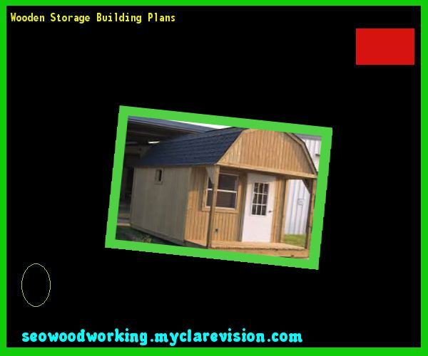 Wooden Storage Building Plans 105041 - Woodworking Plans and Projects!
