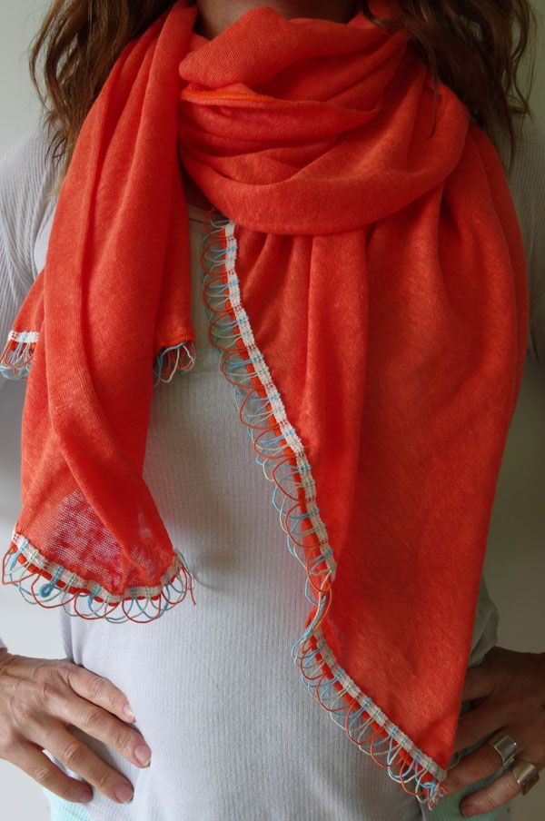 Coral Reef by Stylesetterz Handmade Scarves www.facebook.com/stylesetterzhandmadescarves