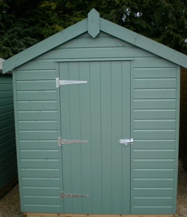 18 x 24m classic shed