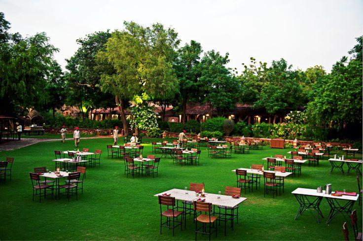 Romantic Dinner in the Gardens