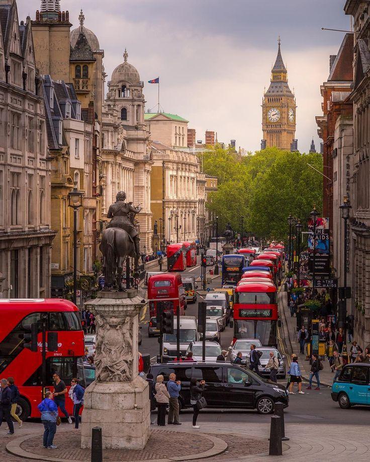 miaknipst : Adore London Trafalgar square