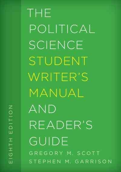 The Political Science Student Writer's Manual and Reader's Guide