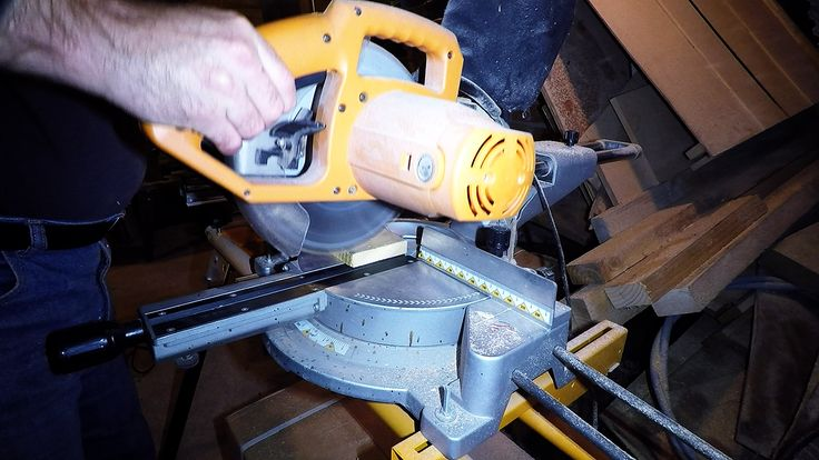 Cutting stuff with the Mitre Saw