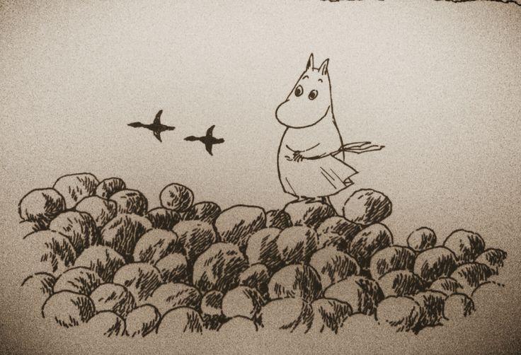Moomin card