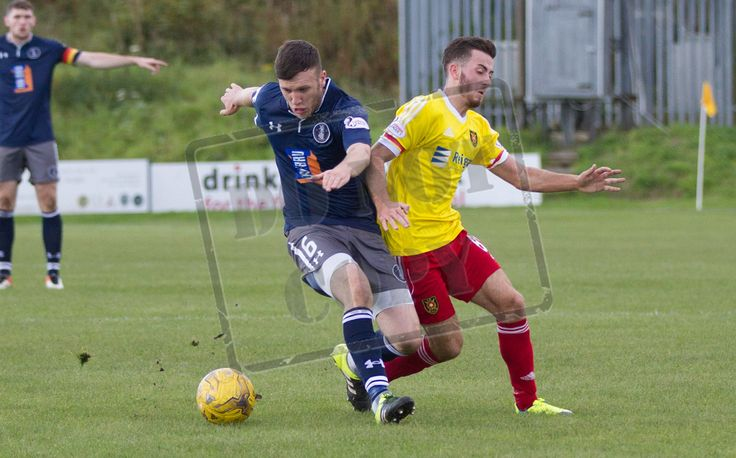 Queen's Park's Adam Cummins in action during the Ladbrokes League One game between Albion Rovers and Queen's Park.
