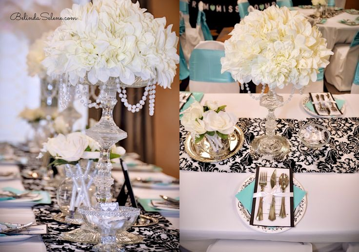 Tiffany Amp Co Themed Bridal Shower Breakfast At Tiffanys Party By Beauty Blogger Belinda