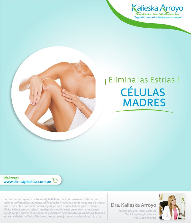 Kalieska Arroyo   Elimina las estrias con células madres