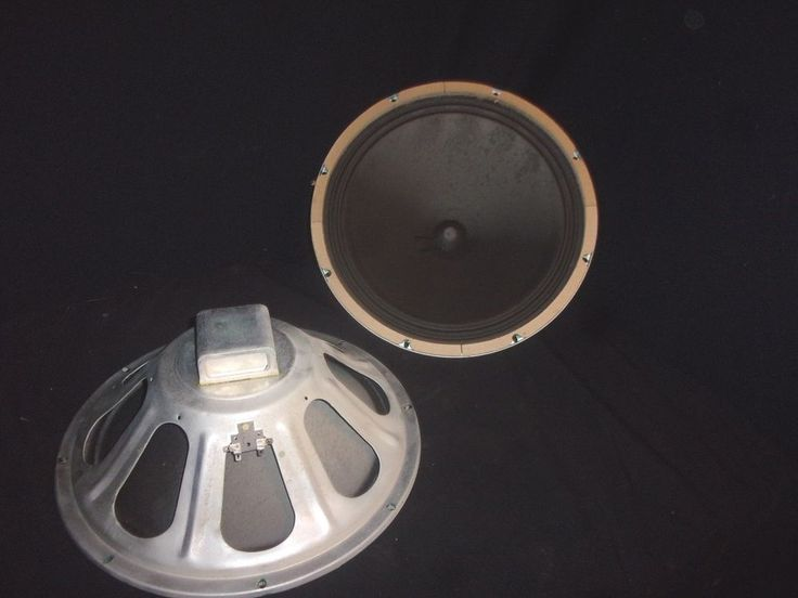 "Pair of Vintage 15"" Magnavox Alnico Woofer Speakers - Sound GREAT!! #Magnavox"