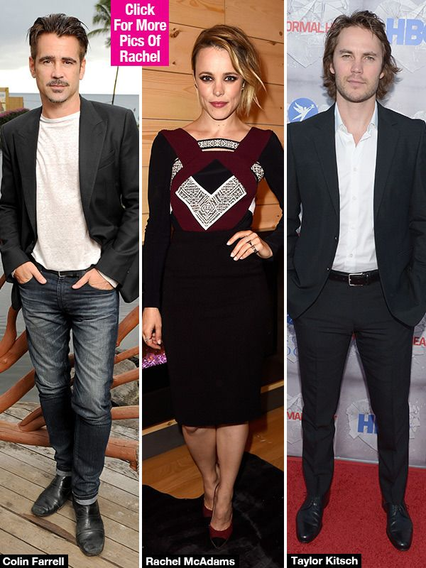 Rachel McAdams: 'True Detective' Star In Love Triangle With Colin Farrell & Taylor Kitsch