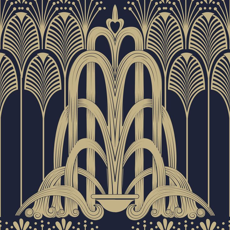 25 best ideas about art deco pattern on pinterest art for Art deco artists and designers