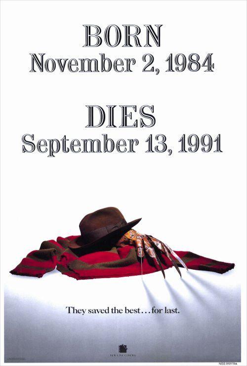 Freddy's Dead Final Nightmare 27x40 Movie Poster (1991)