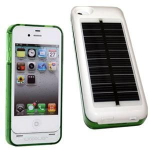 Hybrid Solar Battery Case for the iPhone
